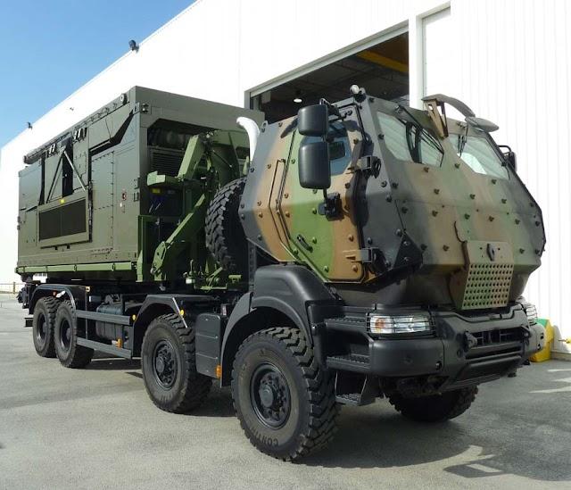 رادارات عسكرية للقوات المسلحة الملكية