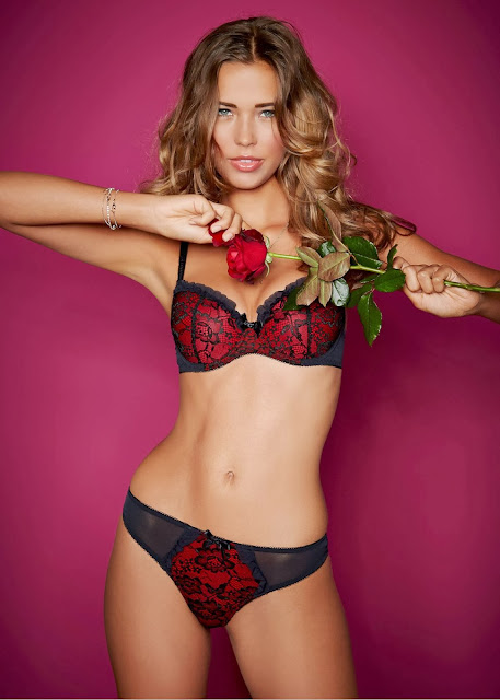 Sandra Kubicka Sexy Body On Display For Bon Prix Lingerie Photoshoot