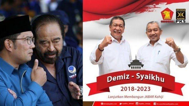Head To Head Ridwan Kamil VS Deddy Mizwar-Syaikhu, Ujian Mesin Politik PKS-Gerindra