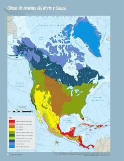 Apoyo Primaria Atlas de Geografía del Mundo 5to. Grado Capítulo 2 Lección 3 Climas de América del Norte y Central