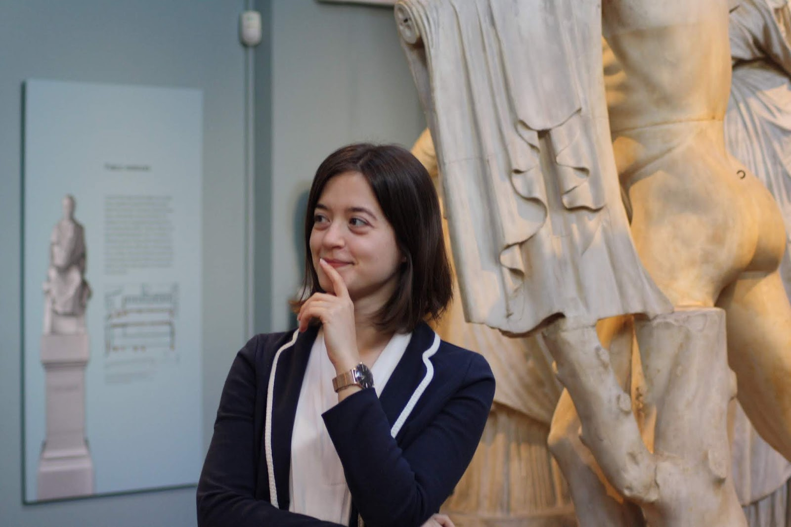 PhD student first year experience museum ashmolean gallery