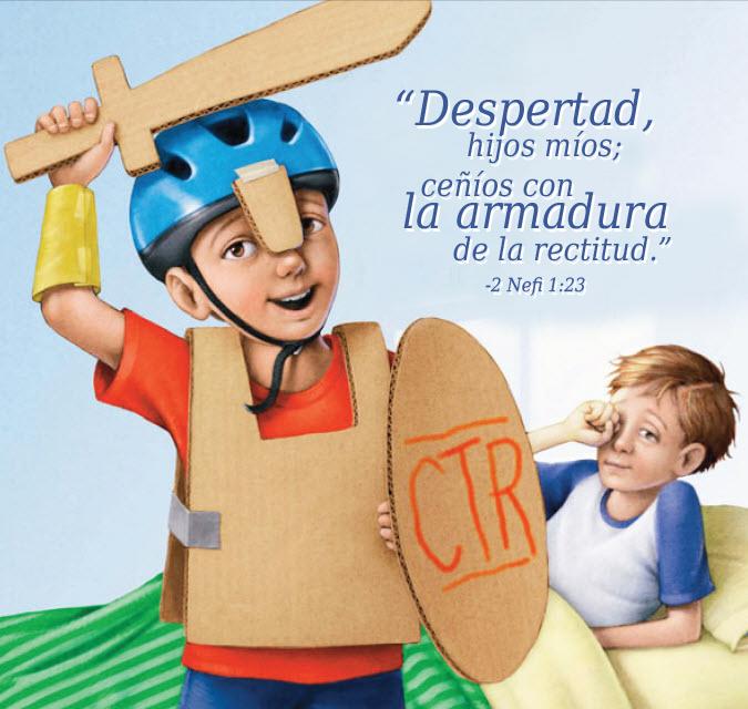"""Ideas y ayudas visuales para enseñar """"El Poder de las Escrituras"""" a los niños de la Primaria SUD"""