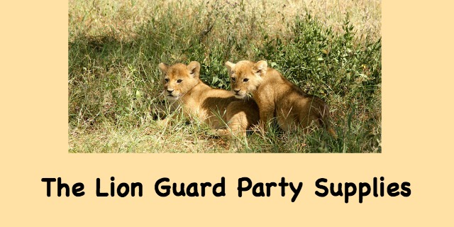 The Lion Guard Party Supplies