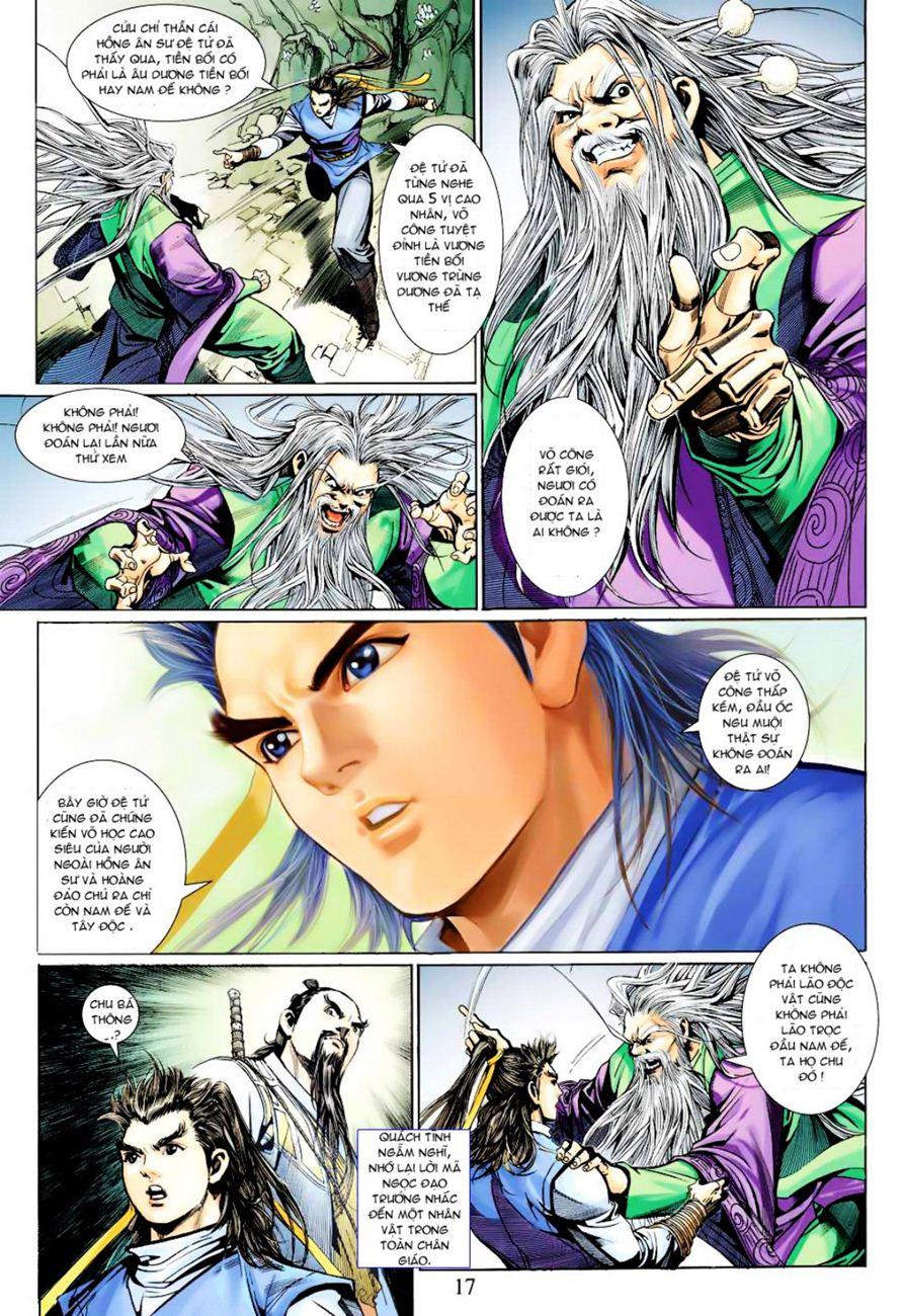 Anh Hùng Xạ Điêu anh hùng xạ đêu chap 40 trang 17