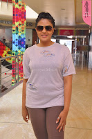 Sri Mukhi in Denim and Jacket at Max Summer Collection Launch  Exclusive 038.JPG