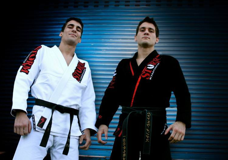Kid Peligro's Mat: Storm Kimonos - Mendes Brothers and T1ER ONE