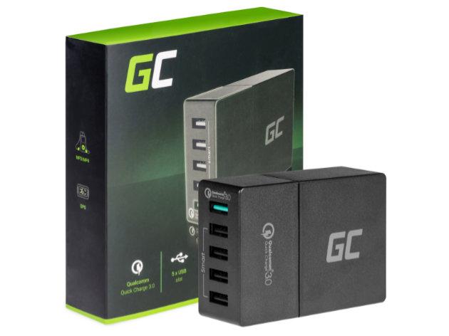 Pięcioportowa ładowarka USB GreenCell (CHAR05)
