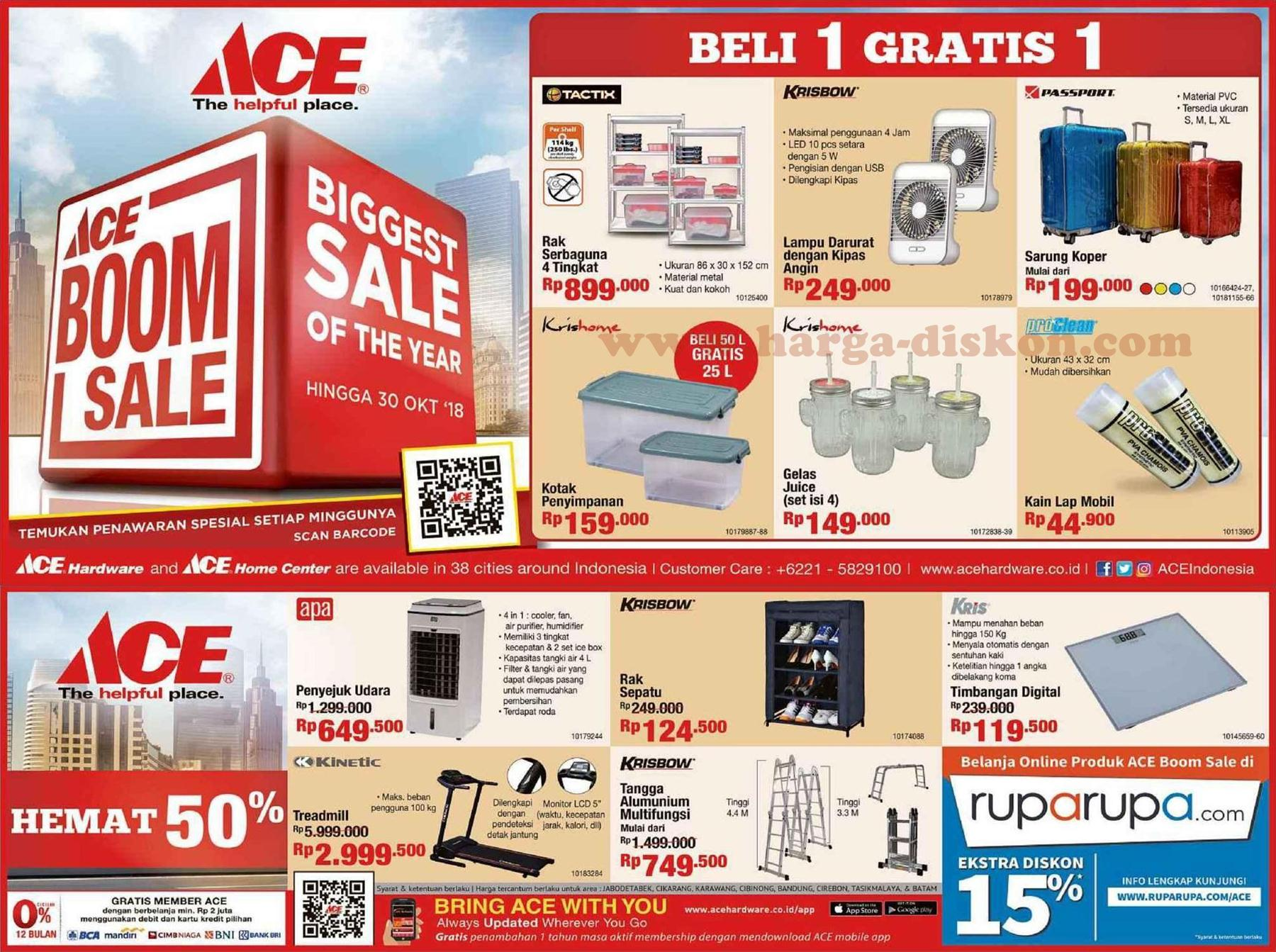 Promo ACE HARDWARE Terbaru BOOM SALE - photo#36