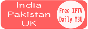 India Pakistan Sky UK HD TV-Channels Free M3u