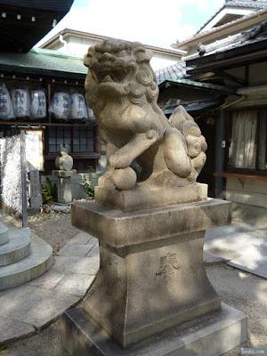 八王子神社狛犬