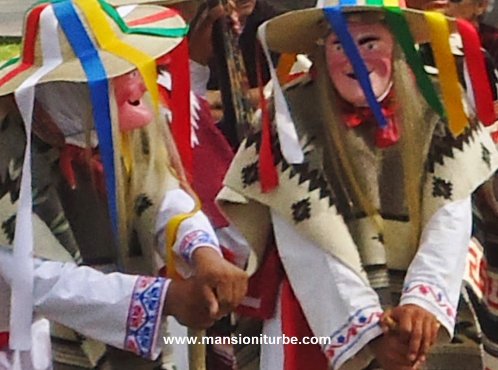 The Dance of the Little Old Men  from Jaracuaro at Lake Patzcuaro
