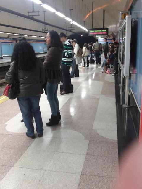 Metro de Madrid reduce el número de trenes
