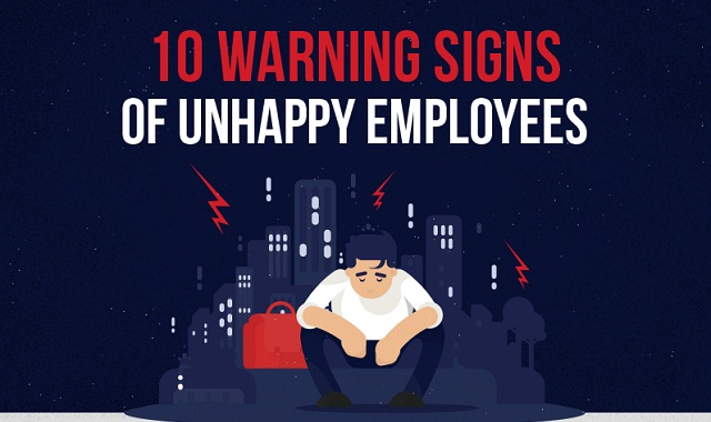 10 Warning Signs of Unhappy Employees