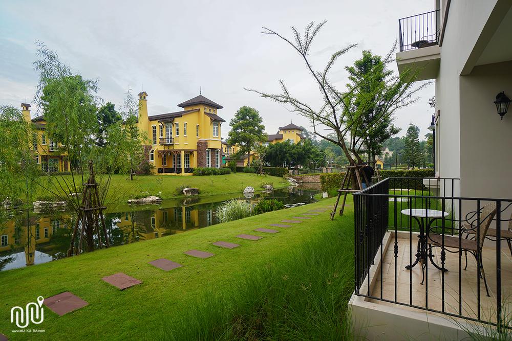 บรรยากาศของโรงแรม U Khao Yai