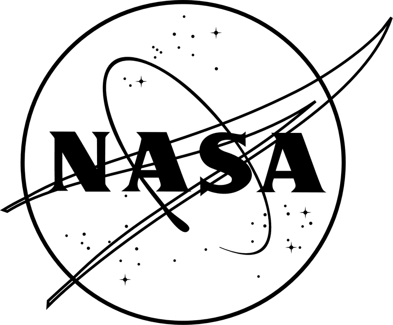 nasa emblem black and white - photo #9