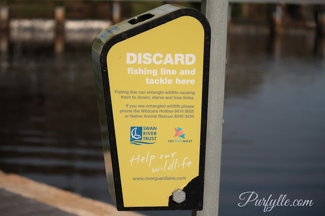 I'd like to see more of these! The Swan River Trust also looks after the Canning river.