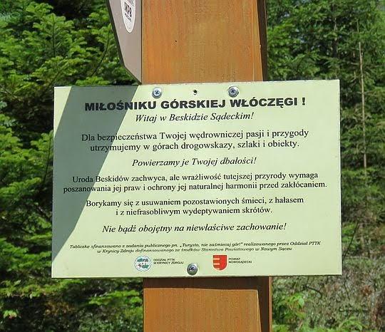 Tabliczka na Czubakowskiej.