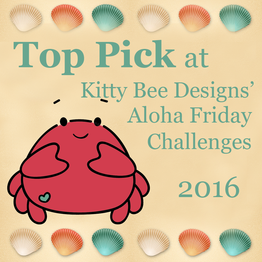 Kitty Bee Designs Aloha Friday challenges