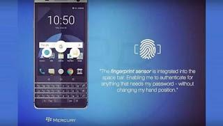 تسريب جديد يضهر جهاز بلاك بيري الجديد Blackberry Mercury مزود بلوحة مفاتيح حقيقية تعمل باللمس