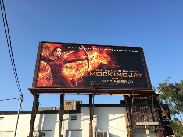Hunger Games Mockingjay 2 billboard