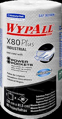 PAÑO DE LIMPIEZA INDUSTRIAL WYPALL X80 PLUS