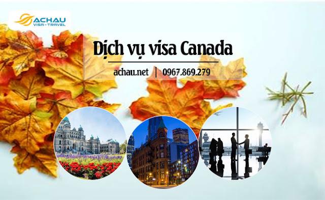 Hồ sơ làm visa Canada
