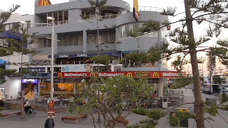 McDonalds front of store Surfers Paradise