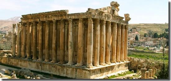 Locais perigosos para turistas - Baalbek - Líbano