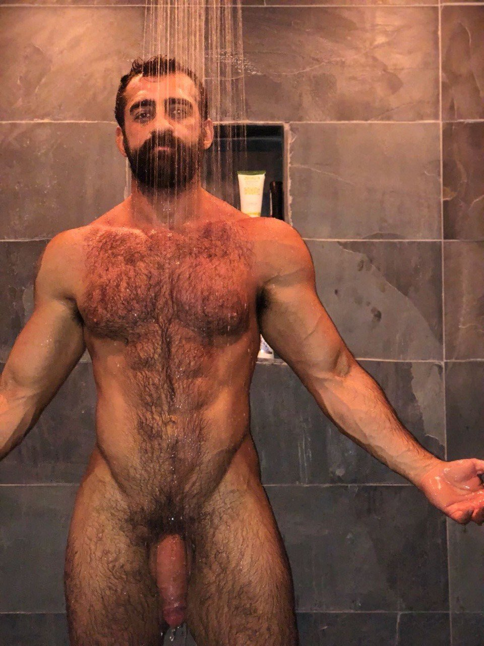Thank for hairy asian gay guy taking shower