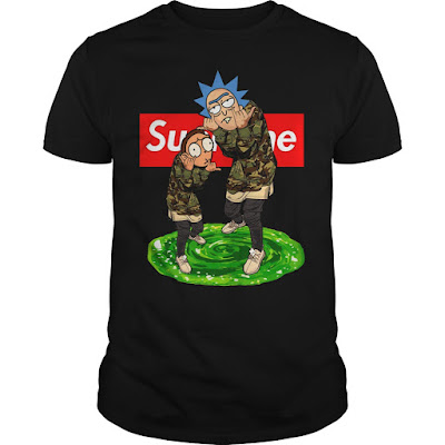 Rick and Morty Supreme T Shirt Hoodie Jacket and Crewneck Sweatshirt Sunfrogshirts