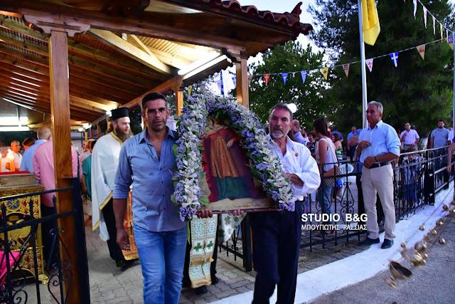 Αργολίδα: Γιόρτασαν την Αγία Κυριακή στο Λάλουκα (βίντεο)