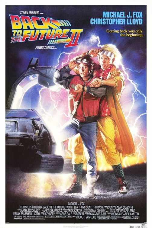 A Film A Day Back To The Future Part Ii 1989