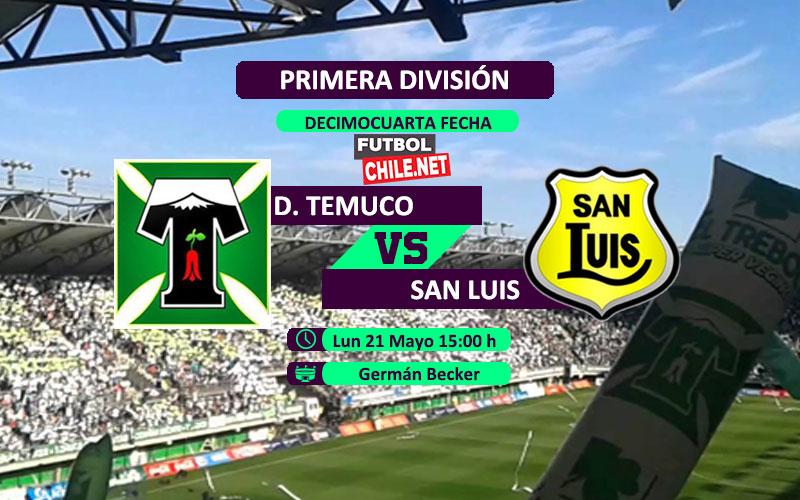 Deportes Temuco vs San Luis: Previa, horario, dónde ver en vivo por TV y online por la Primera División