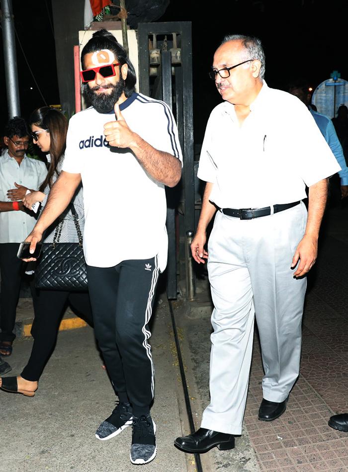 Ranveer Singh injured during shooting of Padmavati Movie
