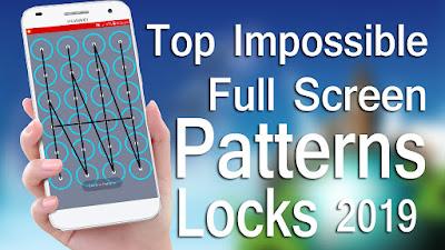 6x4 pattern lock || The portrayal of FullScreen Pattern Lock || Download Here!!!