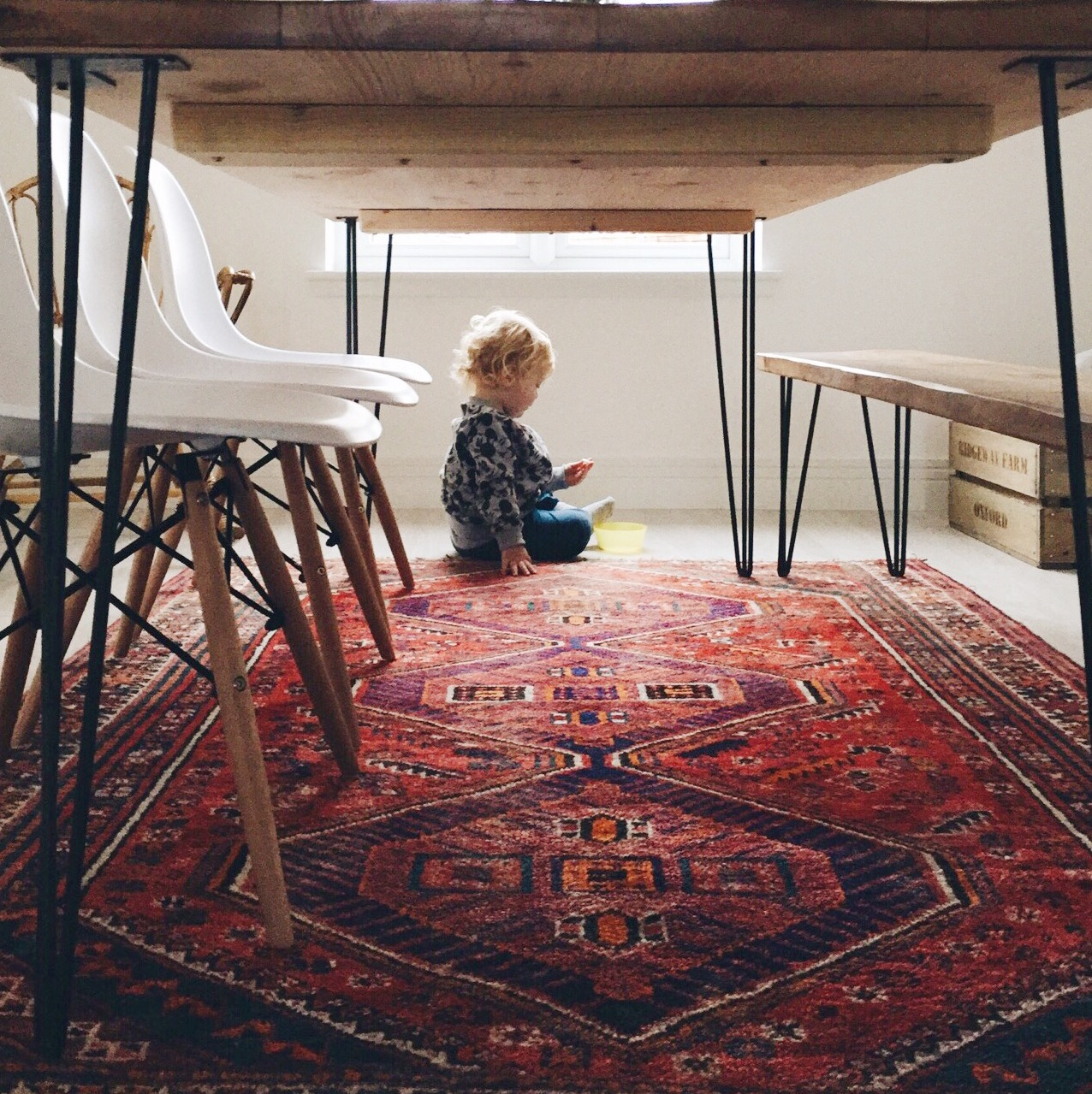 This Little House: IT STARTED WITH A RUG