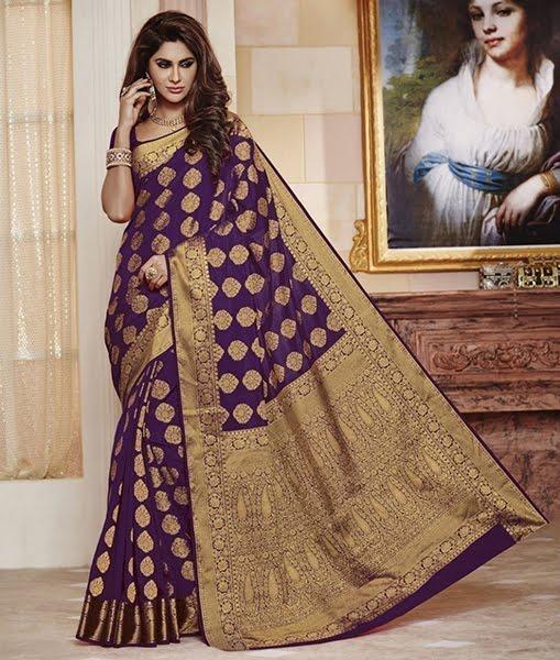 Indian Kanjeevaram silk sarees