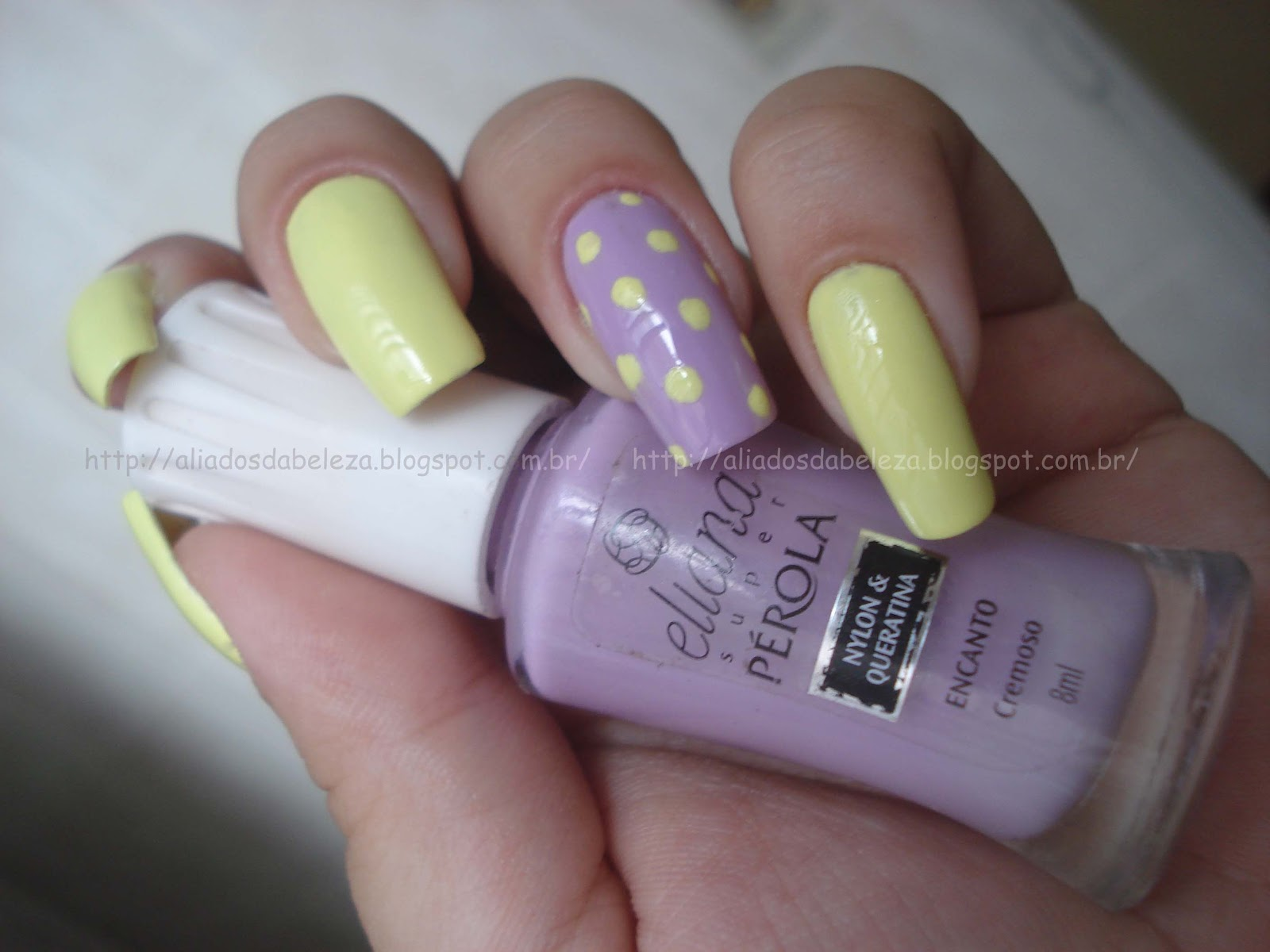 Nail Art Candy Color with POA