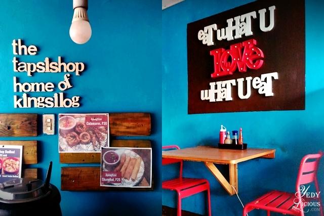 The Tapsishop Binangonan Home of KingSilog - YedyLicious Manila Food Blog