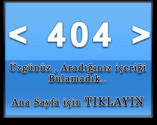 404 sayfası, blogger 404 sayfası, 404