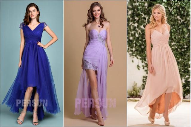robes de soirée style bascule