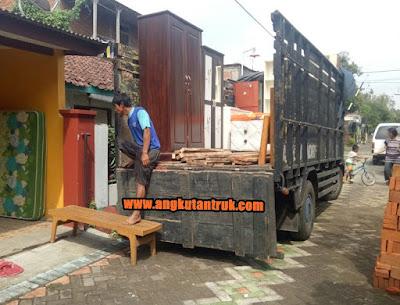 Pindahan dengan Truk Balen Jakarta Solo