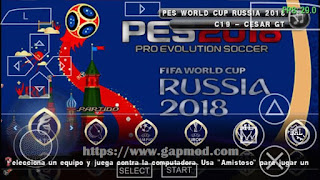 PES World Cup Russia 2018 Special Edition by C19 [Chelito v5]