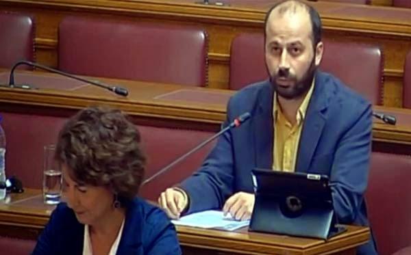 Ο Διαμαντόπουλος ρωτά στη βουλή: Κάνει προεκλογική προσωπική καμπάνια η Αντωνίου με λεφτά του ΟΑΕΔ?