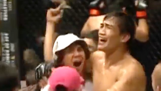 Eduard Folayang won the World Lightweight Belt in the ONE Championship league.