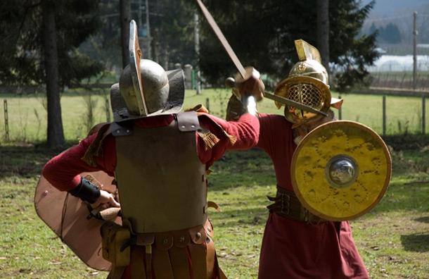Train Like a Gladiator in Rome