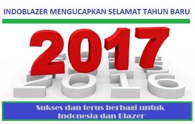 Selamat tahun baru untuk Indonesia dan Blazer