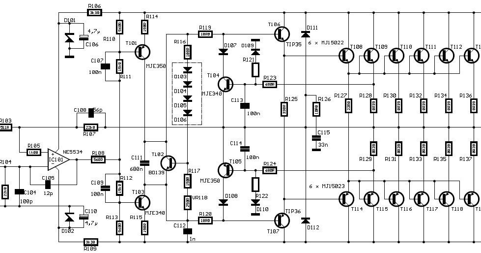 audio kit  600 watt hi