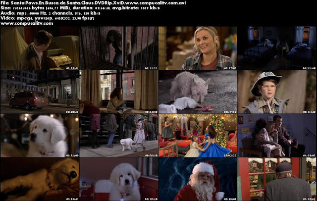 The Search For Santa Paws DVDRip Español Latino Película