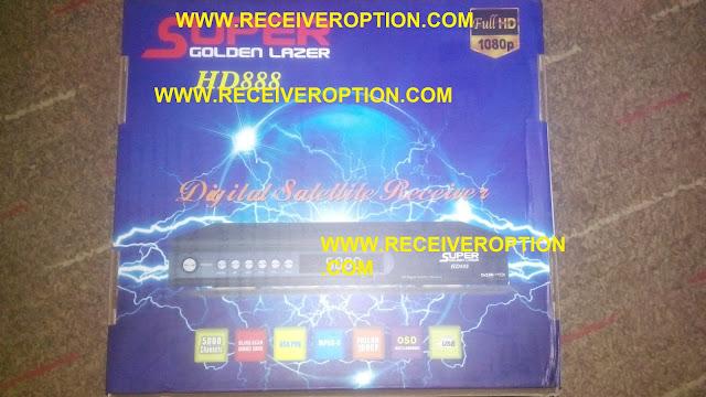 SUPER GOLDEN LAZER HD888 RECEIVER BISS KEY OPTION